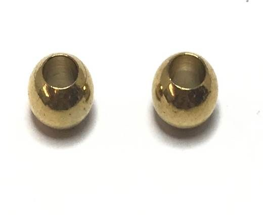 Stainless steel part for leather SSP-35-5mm GOLD