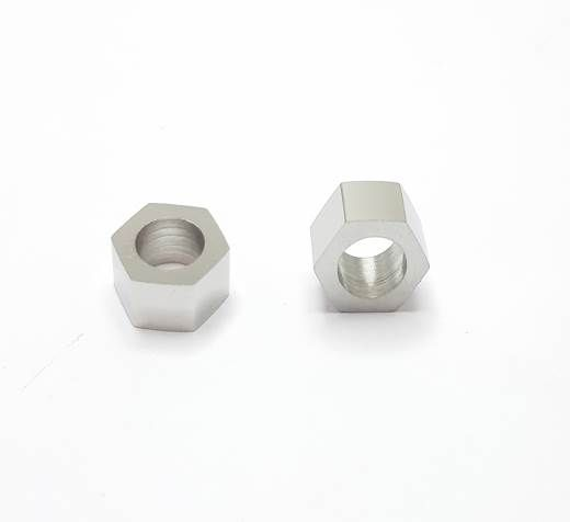 Stainless steel part for leather SSP-67 - 6mm BLACK