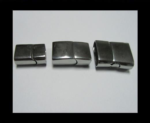 Stainless Steel Magnetic clasps - MGST-32-(12mm * 6mm)