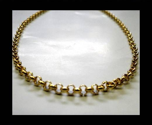 Steel Chain Item 12 Gold