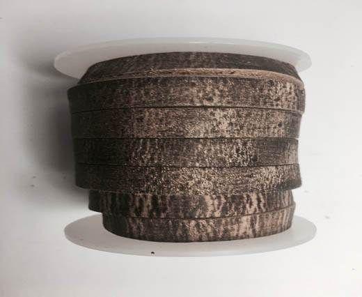 Latigo Lace 10mm by 3mm  - Vintage brown