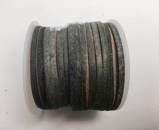 Latigo Lace 3mm by 3mm  - Vintage grey