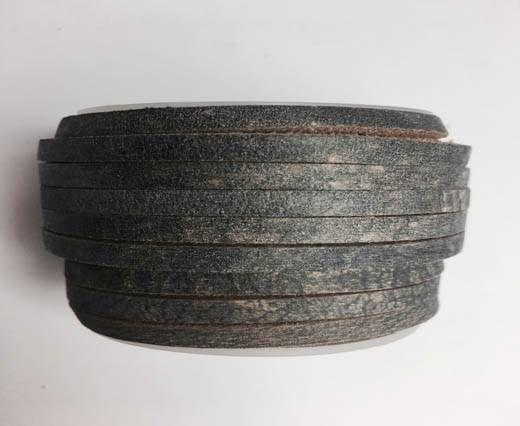 Latigo Lace 5mm by 3mm  - Vintage grey