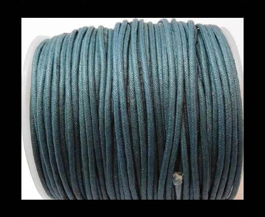 Wax Cotton Cords - 1,5mm - Ink Blue