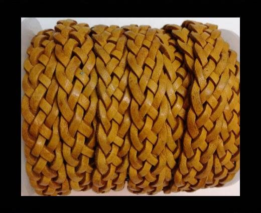 10mm Flat Braided- SE DM 21 - 5 ply braided Leather Cords