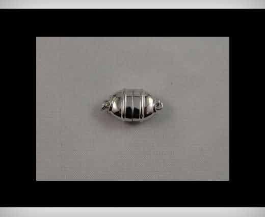 925 Sterling Silver Magnetic Locks SSMG-11