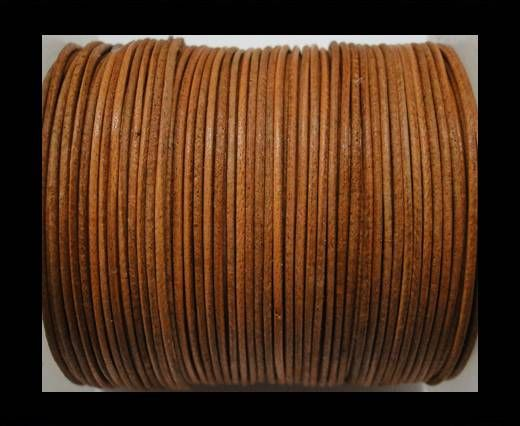 Cordon cuir Rond -Vintage Bronze - 1mm