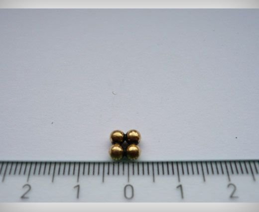 SE-1781-Antique Gold Small Sized Beads