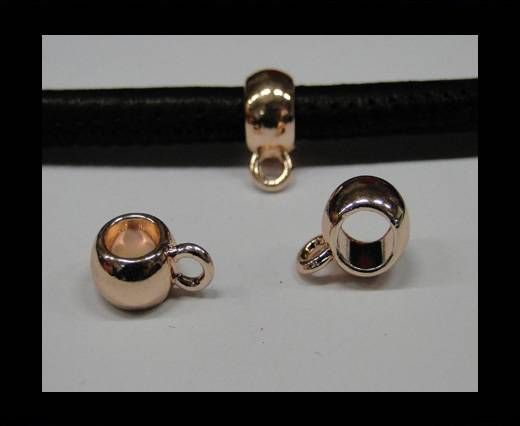 CA-4738-Rose gold-Zamac parts for leather