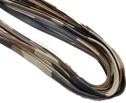 Flat Nappa Leather cords - 5mm - camouflage_beige_blue[1]