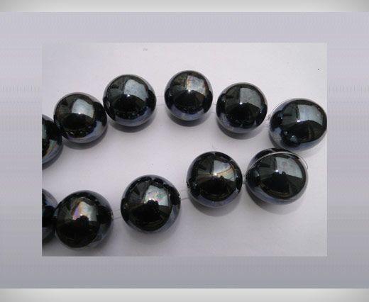 Ceramic Beads-16mm-Black