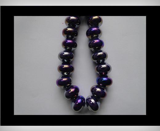 Ceramic Beads -Blue-AB