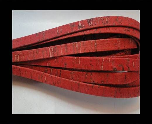 Cork Flat-5mm-Fuxia