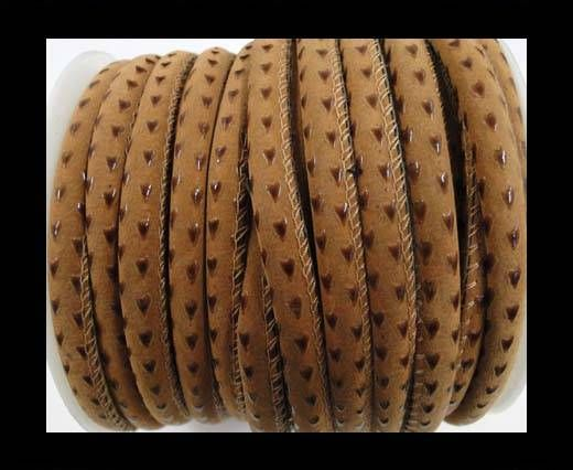 Eco napap leather Prashute style-6mm-brown