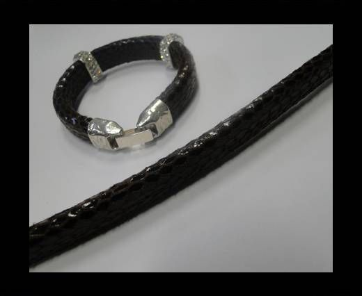 Eco Regaliz-Leather-Snake Style-Black