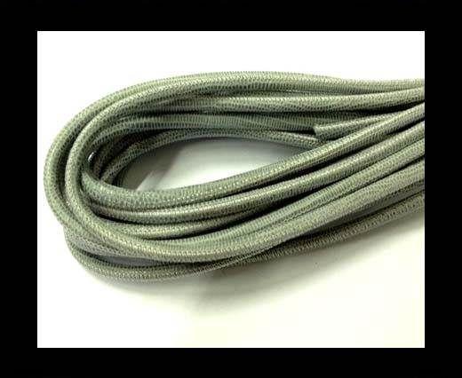 Fine Nappa-Lizard style-4mm-Lizard Grey Paill Transparent