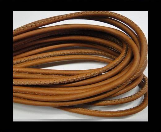 Fine Nappa-Plain style -Light brown-4mm