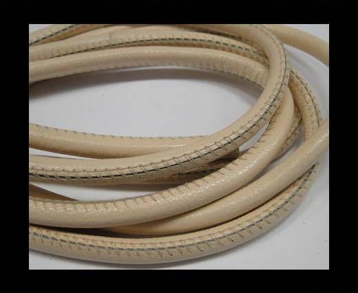 Fine Nappa-Plain-Style-Cream -6mm
