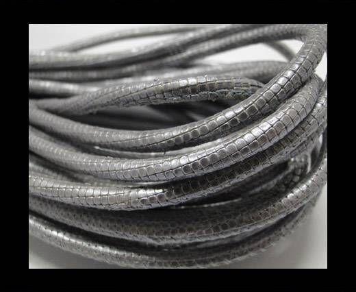 Fine Nappa-Snake-style-steel -4mm