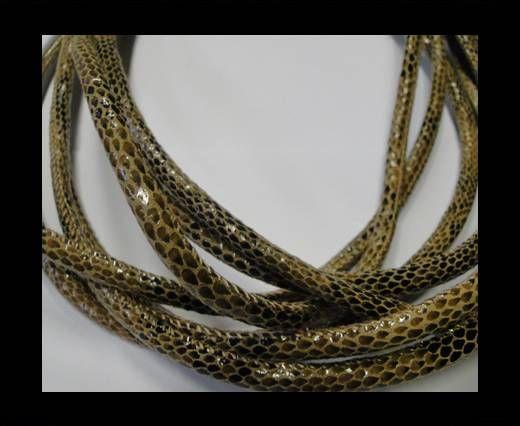Fine Nappa-Snake-style -Version1-Brown-6mm