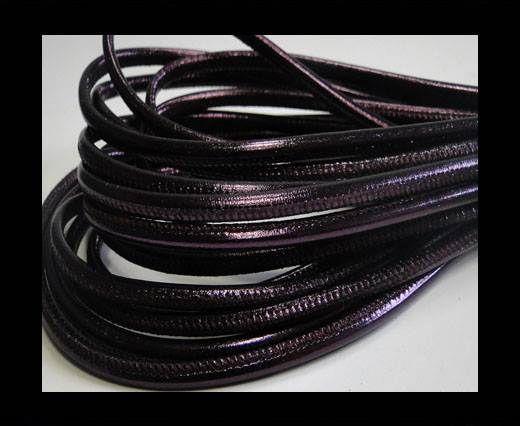 Fine Nappa-Snake style-Purple Vintage -4mm