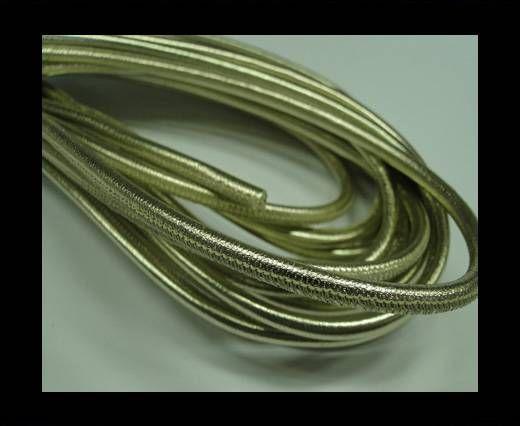 Fine Nappa-Stitch Style Platinium -4mm