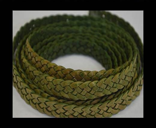 Flat braided cords 14 mm - SE/PB/18