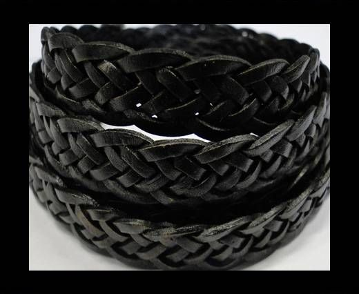 Flat braided cords 14 mm - SE/PB/02- 5 ply