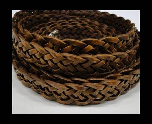 Flat braided cords 14 mm - SE/PB/04 - 7 ply
