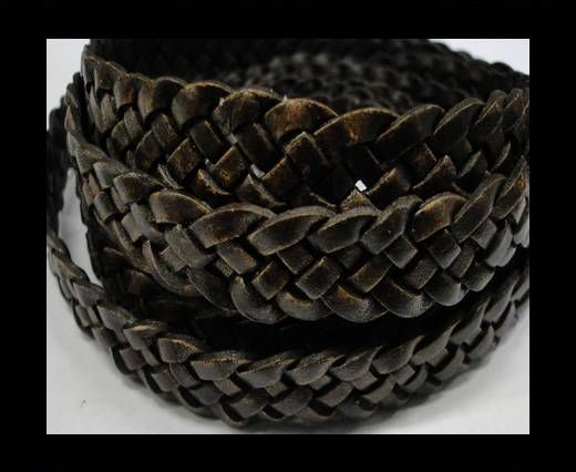 Flat braided cords 14 mm - SE/PB/13 - 5 ply