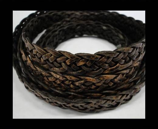 Flat braided cords 14 mm - SE/PB/13 - 7 ply