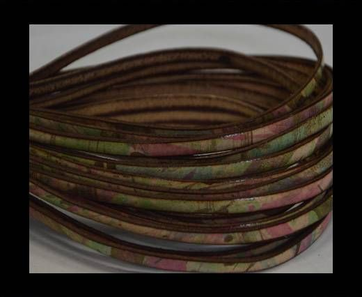 Flat Leather- 5mm - Multi color 1