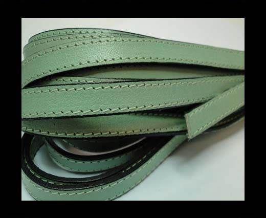 Flat Leather-Double Stitched -Acona