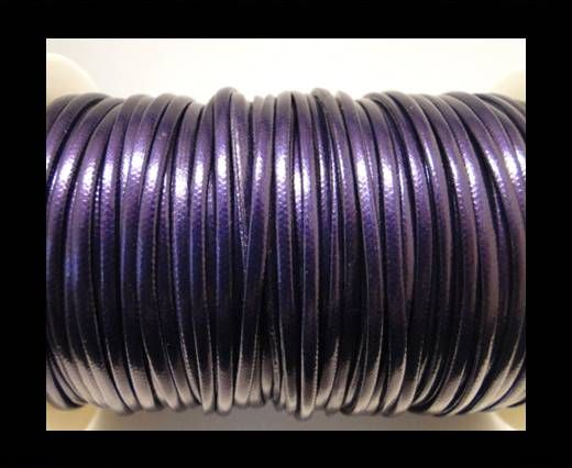 Cuir Nappa fantaisie - 3mm - Violet