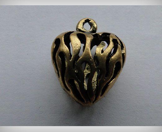 SE-1702-Gold Antique Large Sized Beads