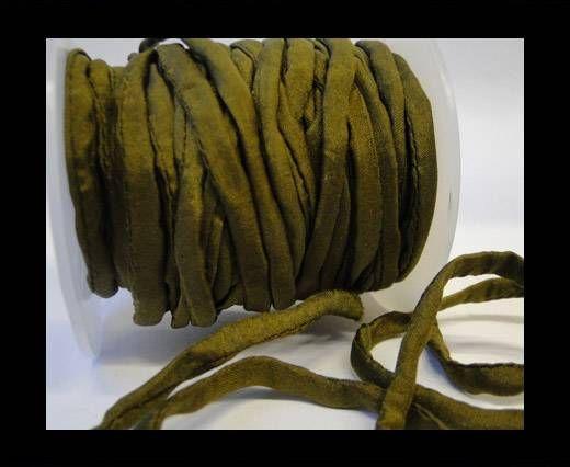 Habotai silk cords - 4661 - Olive
