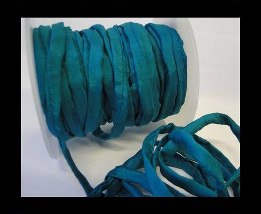 Habotai silk cords - 4750 - Deep Aqua