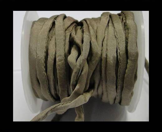 Habotai silk cords - Taupe 15