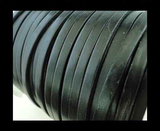 Flat Leather 5mm - Black