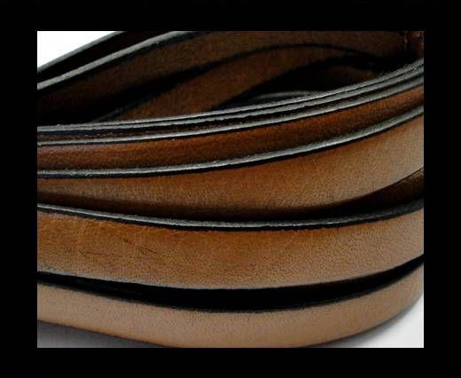 Flat Leather-Cinnamon