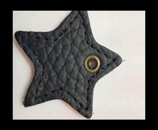 KC-Key Cord Star Shape 4cm blue