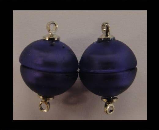 Fermoir magnétique - MG28 - 10mm - Violet