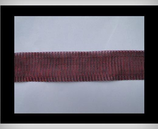 Mesh wire - Bordeaux