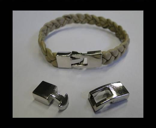 Zamac Hook Clasp - MGL-223-7x2.5mm
