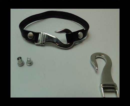 Stainless Steel Hook Clasp - MGST-204