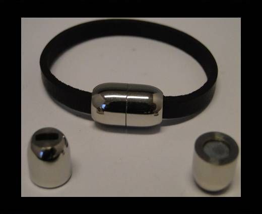 Stainless Steel Magnetic Clasp,Steel,MGST-55