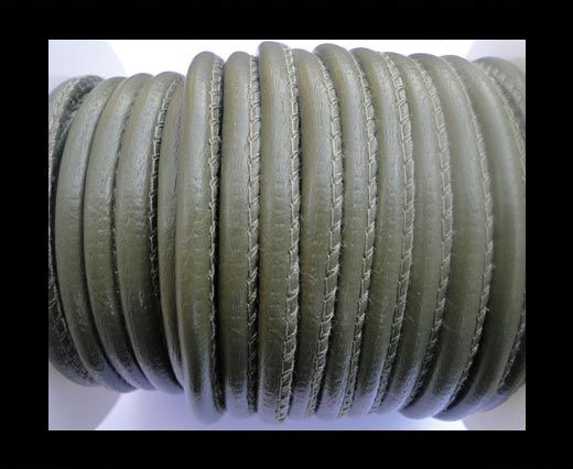Cuir Nappa - 4mm - Vert militaire