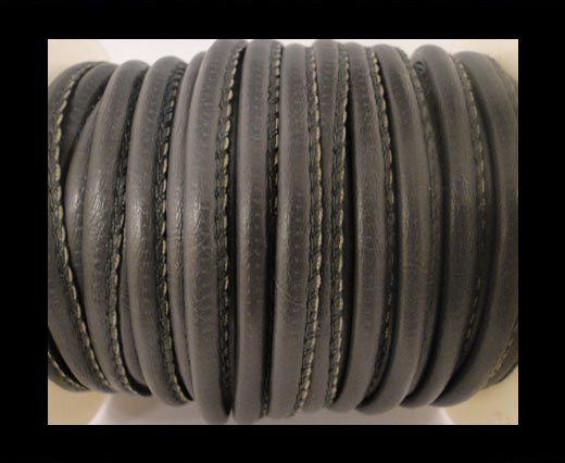 Cuir Nappa - 4mm - Gris foncé