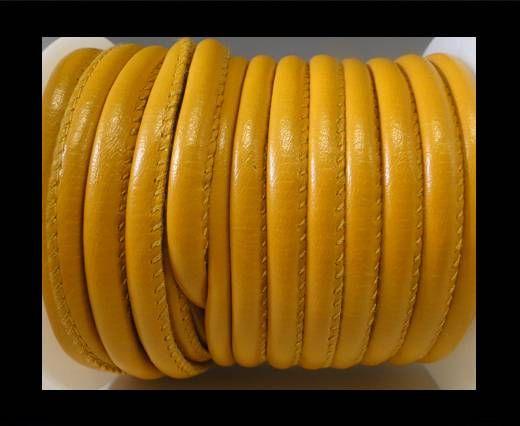 Cuir Nappa - 4mm - Jaune profond
