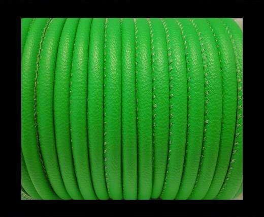 Cuir Nappa - 4mm - Vert fluo